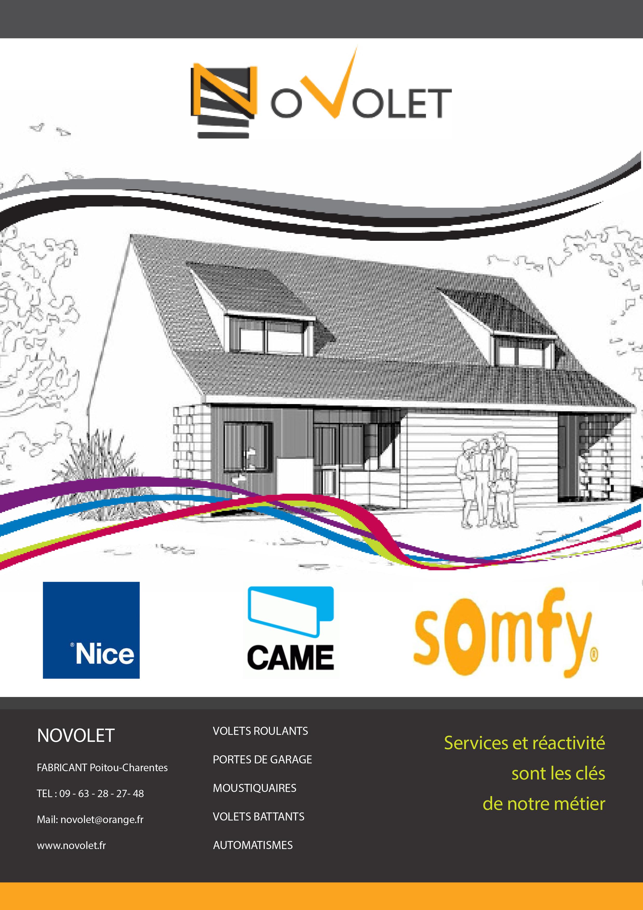 Catalogue Novolet