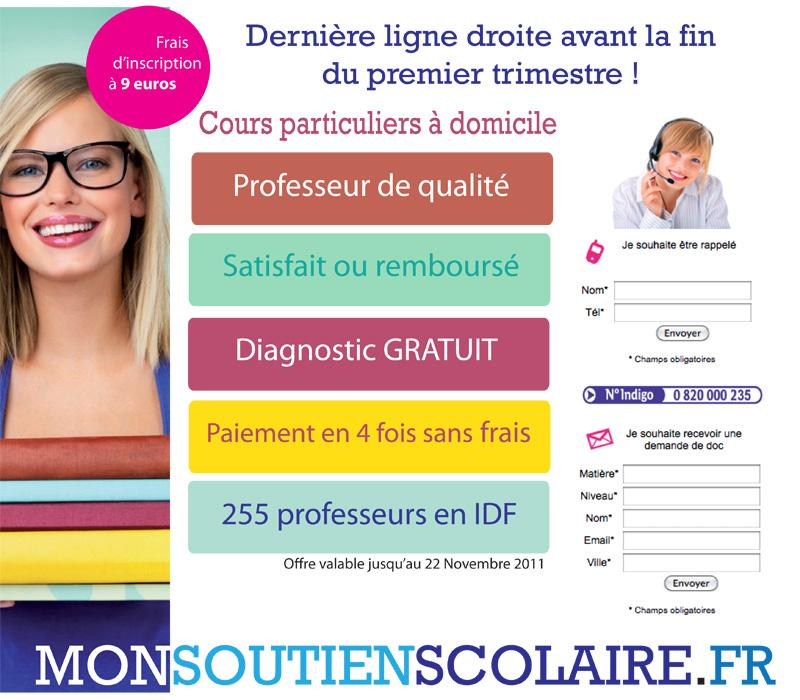 Newsletter Mon Soutien Scolaire