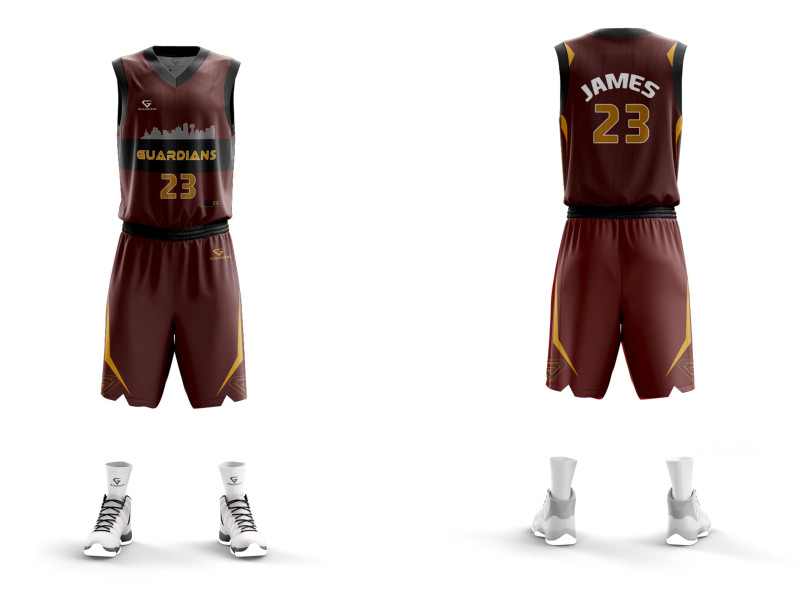 Maillot Basketball Guardians
