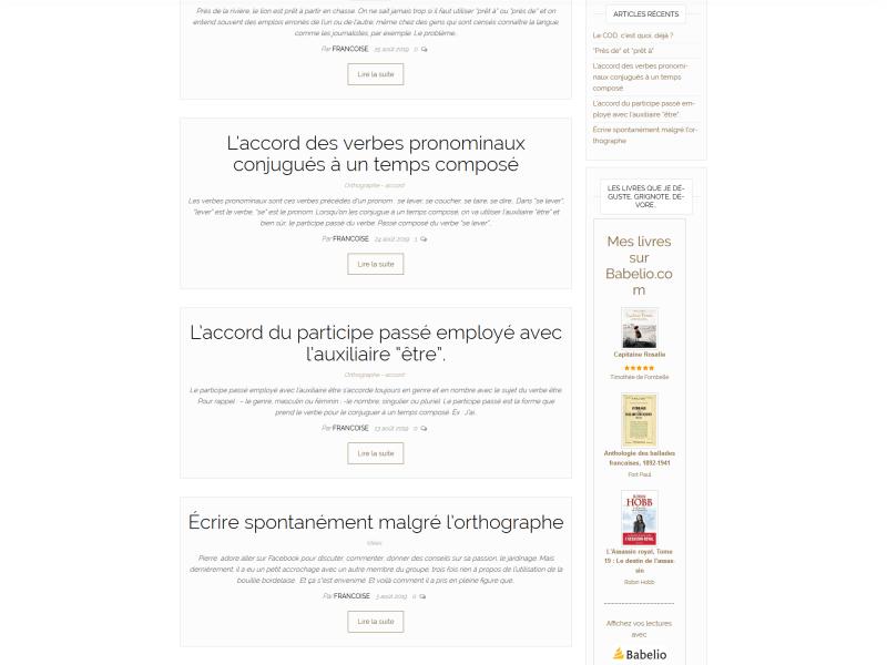 Un blog pour savoir écrire