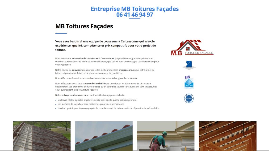 MB Toitures Façades