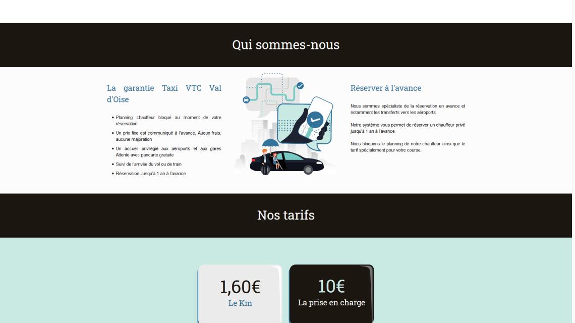 Taxi VTC Val d'Oise